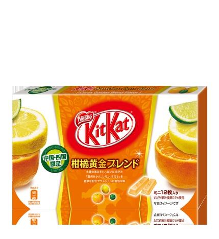 ネスレ キットカット ミニ 柑橘黄金ブレンド 12枚