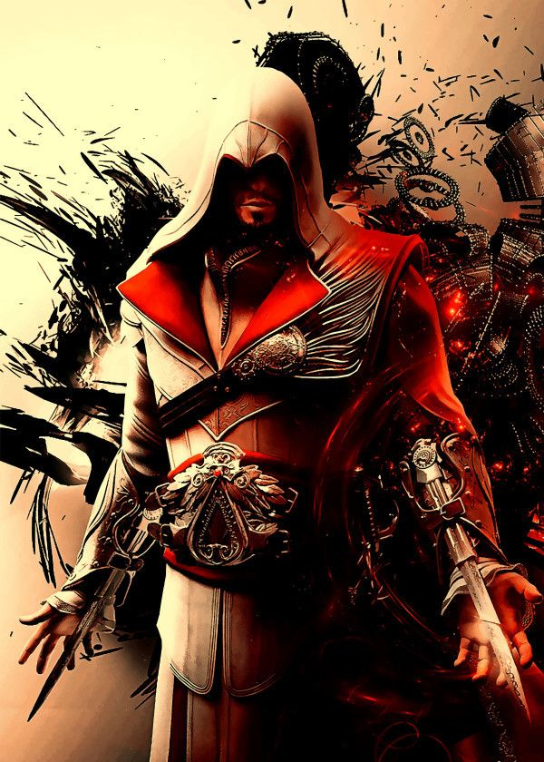 Assassin S Creed Characters Ezio Auditore Displate Artwork By