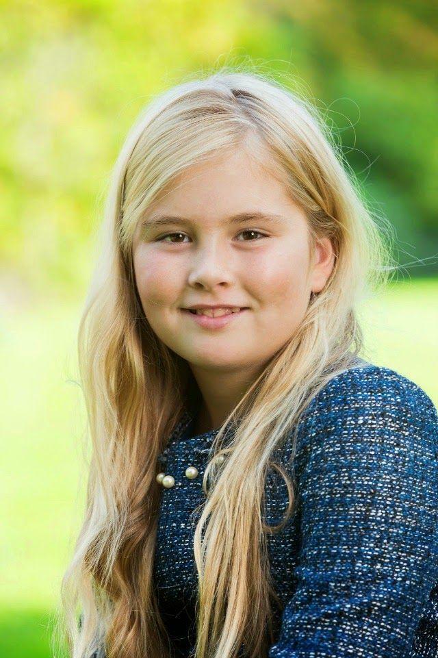 Amalia, Princess of Orange, who will turn 11 on December 7