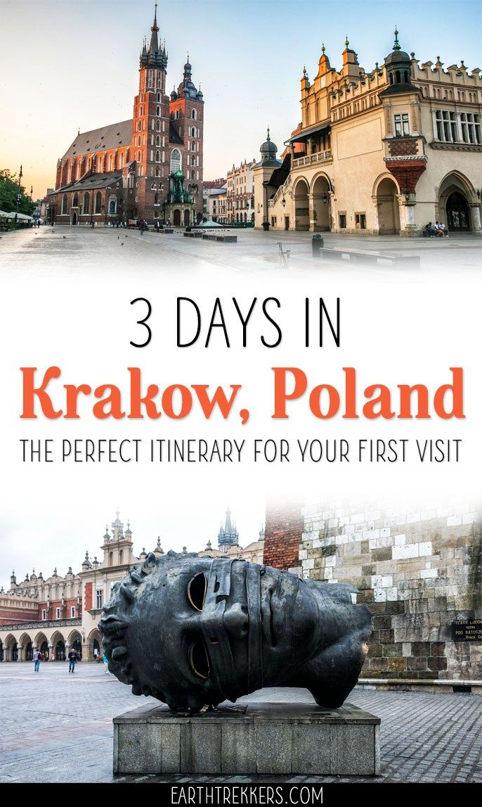 3 Days In Krakow The Perfect Itinerary For Your First Visit Krakow Travel Krakow Eastern Europe Travel