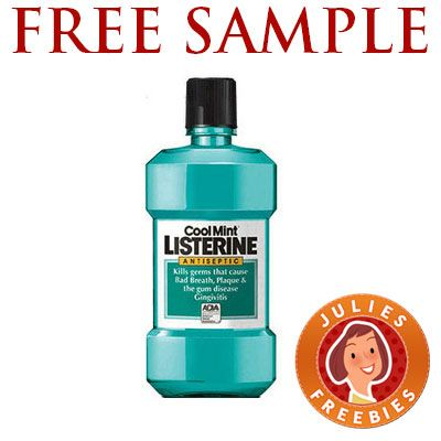 Free Sample of Listerine.  Make sure if you have Pop Up Blocker or Ad Blocker to allow Walmart, then click the Start Sampling Link