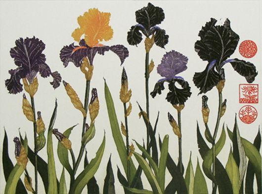 Jean Bardon - Flag Irises