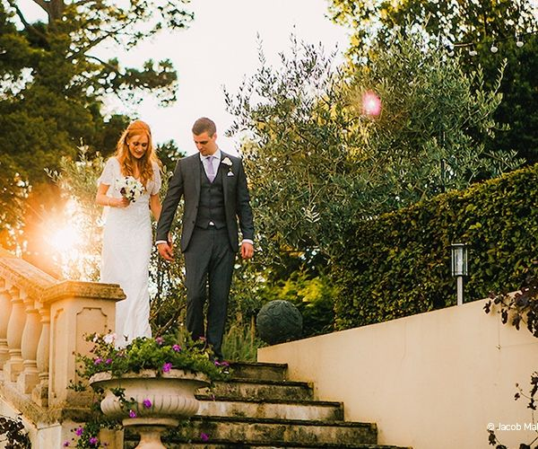 An Evening Stroll In The Grounds At Russets Country House Wedding Venue Surrey Chwv