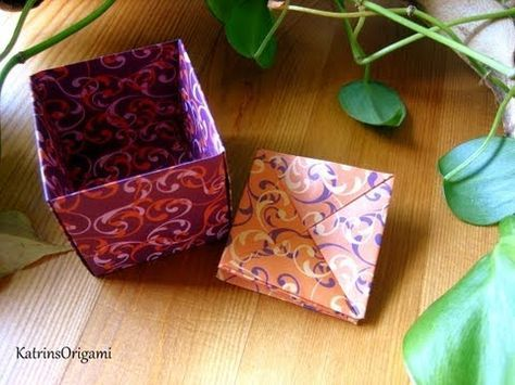 Origami ❀ Coin Purse ❀ Portemonnaie - YouTube