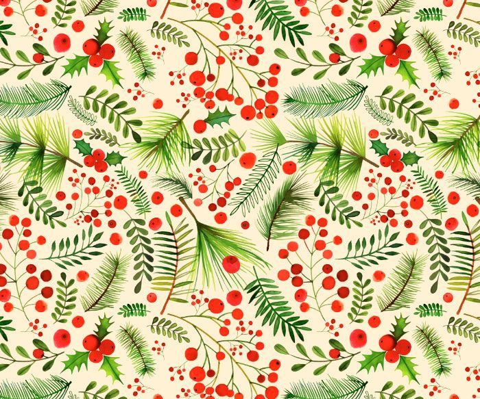 Margaret Berg Art | Margaret Berg Art: Christmas Berries & Foliage