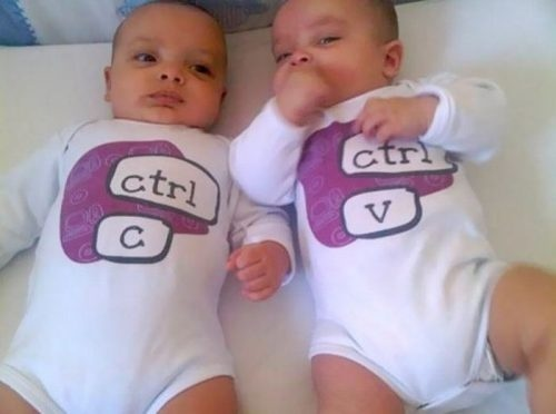 copy and paste ilgio: Twin, Laughing, Idea, Onesie, Giggl, Funny Stuff, Baby, Smile, Kid