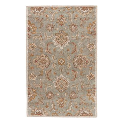 "Charlton Home Thornhill Rug in Blue & Ivory Rug Size: Runner 2'6"" x 6'"