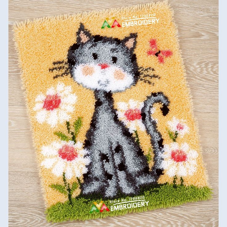 Rug Dogs Embroidery Designs: 1000+ Images About Latch Hook Rug Kits On Pinterest