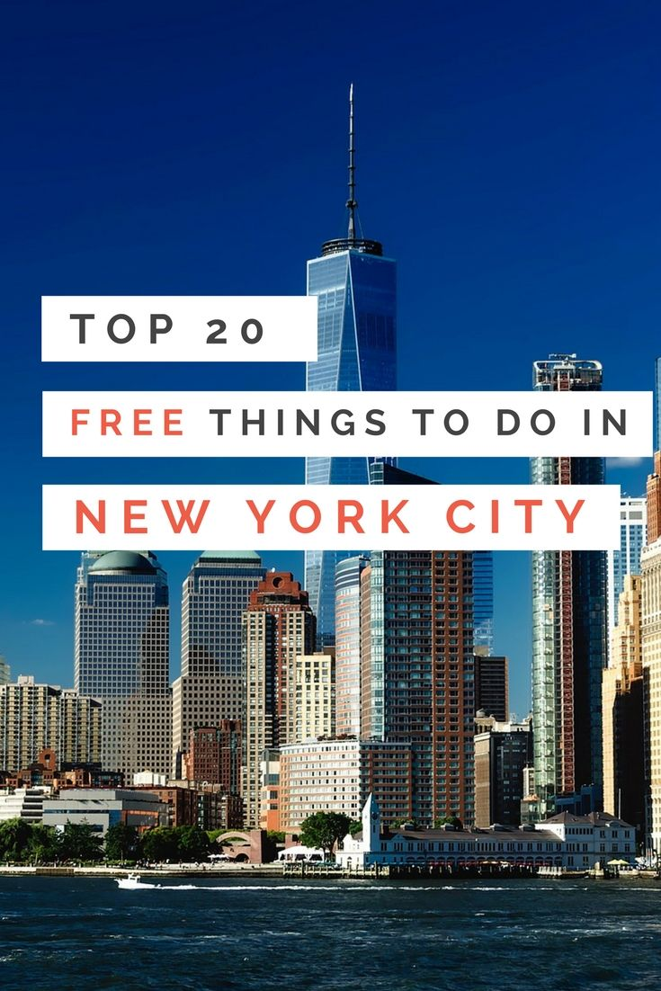 top 20 free things to do in new york city free things
