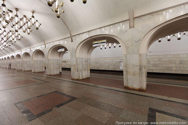 Менделеевская | Серпуховско-Тимирязевская линия | Москва | Прогулки по метро