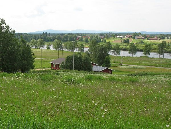 Kairala village in the municipality of Pelkosenniemi in Finnish Lapland.