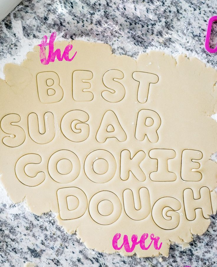 The Best Sugar Cookie Dough (Follow the Ruels)