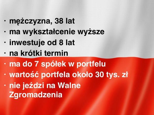 Ilustracja 1: Profil statystycznego, polskiego inwestora giełdowego. Źródło SII, badanie OBI 2014.