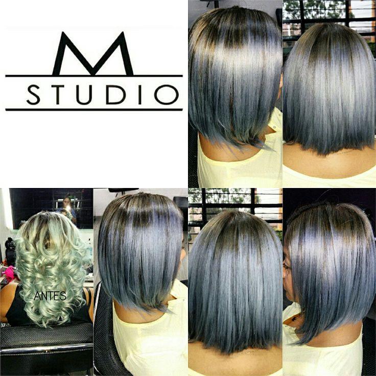Hair color silver