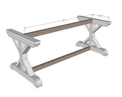 Centsational Girl » Blog Archive » X Base Table: Start to Finish
