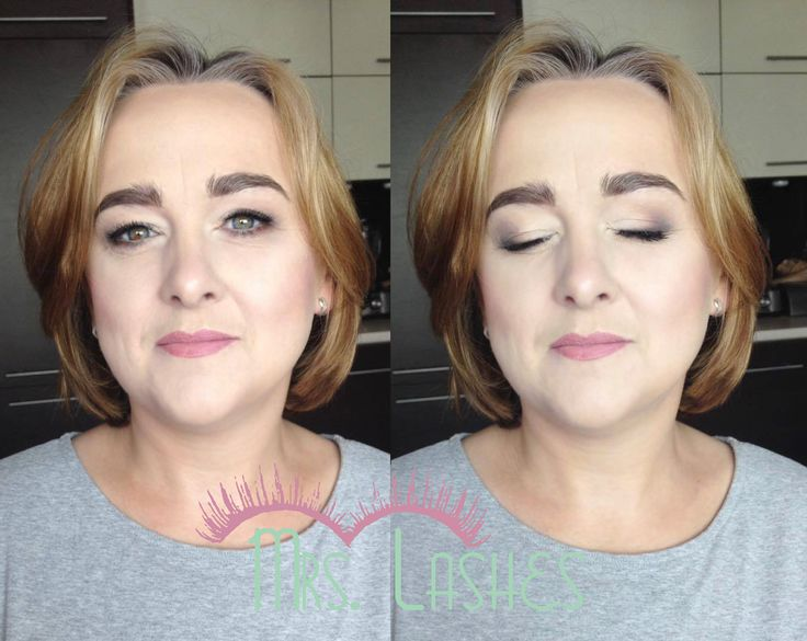 Delikatny makijaż dojrzałej kobiety