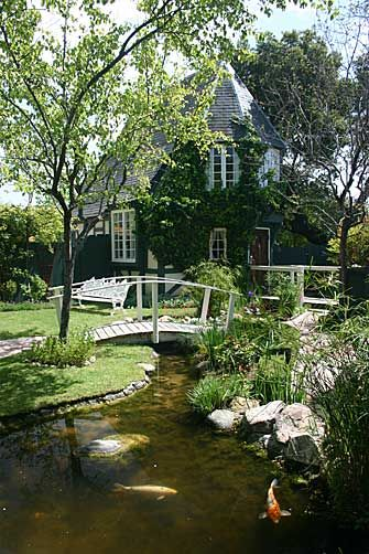 Beauti Garden Pond With Bridge Always Dreamed Of Having A Small Bridge Over My Koi Pond The Inner Designer