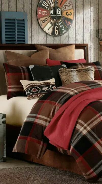56 Best Plaid Bedding Images On Pinterest Bedrooms