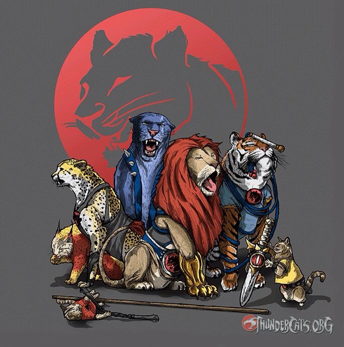 The real Thundercats