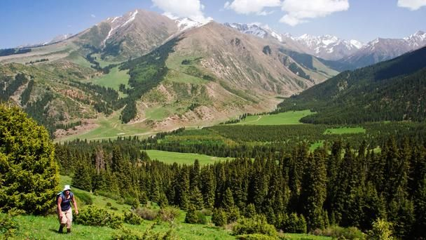 Forgotten countries of the world: #hiking in #Kyrgyzstan, source:  bbc.com