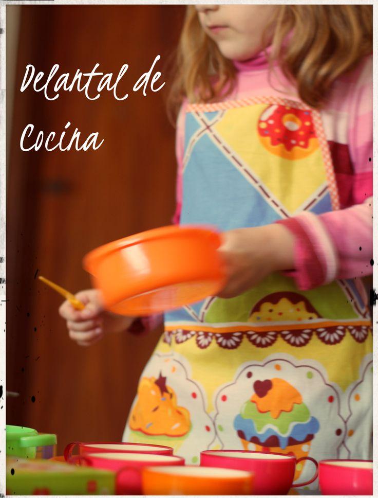 Delantales para niños, para cocinar, pintar o solo para jugar!