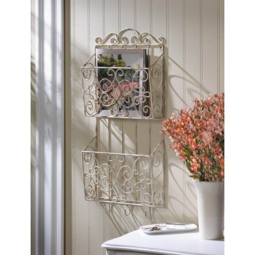 magazine tablet wall rack office working living room organizer new homelocomotion charming office craft home wall storage