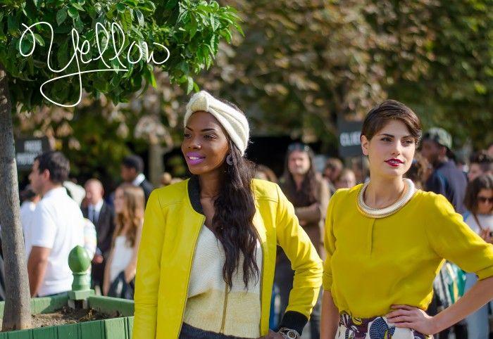 Paris…..Yellow