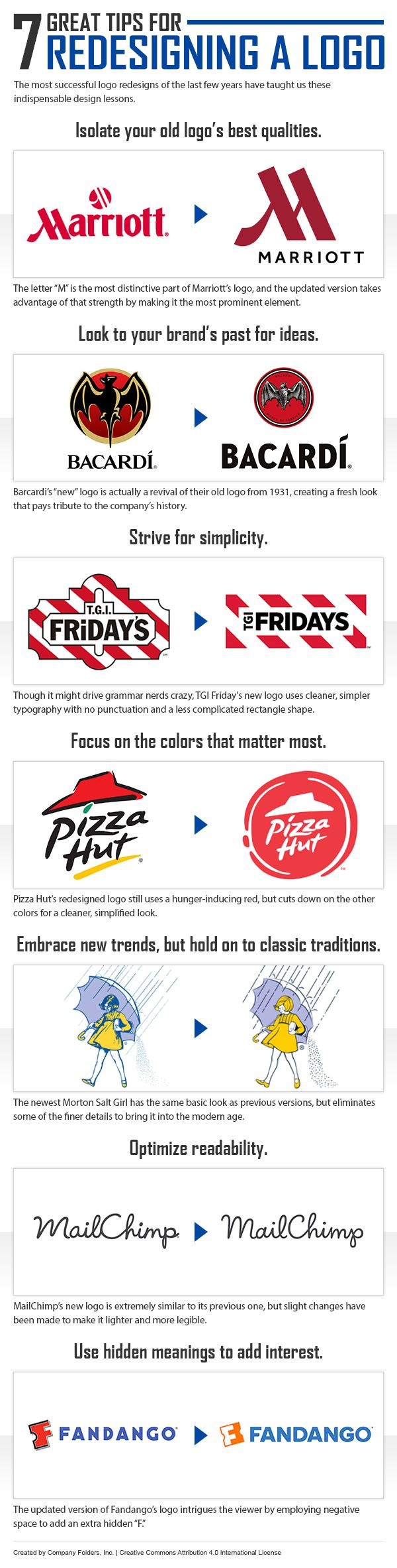 Logo redesign tips #DESIGN #MARKETING