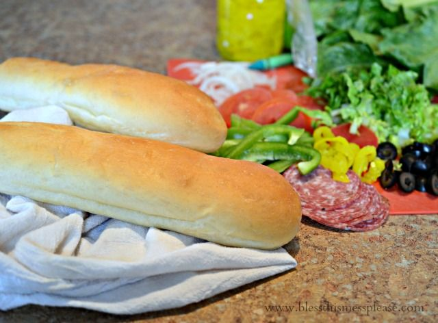 Homemade Subway Bread Recipe - Bless This Mess