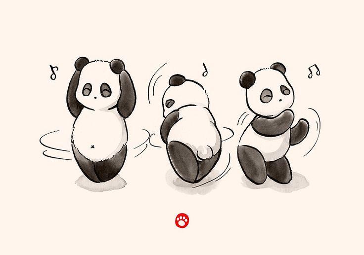 Panda Food Dance by Panda And Polar Bear