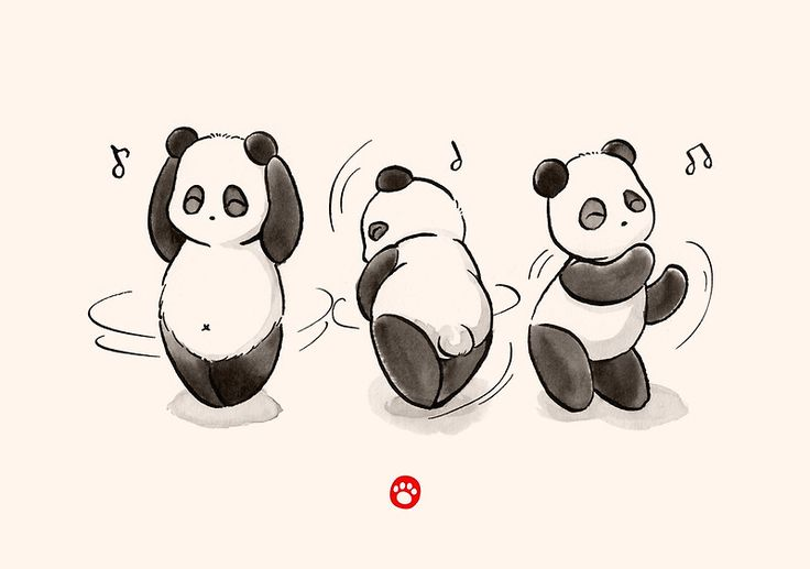 Panda Food Dance by Panda And Polar Bear