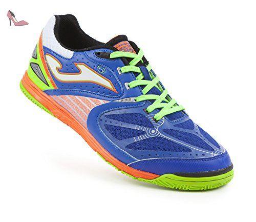 Joma Dris.PS–Chaussures Unisexe - - Orange/White/Blue, 44 EU