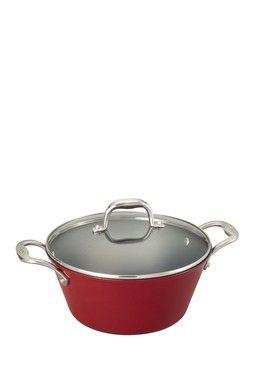 HauteLook | Guy Fieri Cookware: Guy Fieri Lightweight Cast Iron 5.5qt Dutch Oven - Red