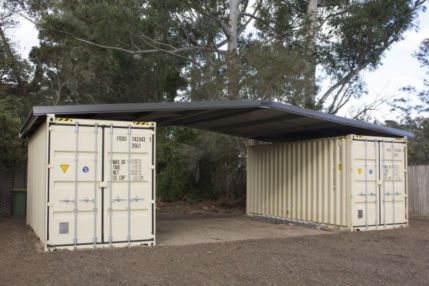 Shipping container roof cover kit suits 2 x 20ft cheap shed house | Miscellaneous Goods | Gumtree Australia Liverpool Plains - Quirindi | 10...