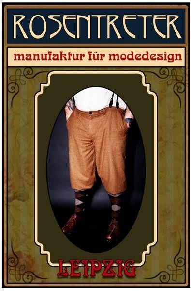 Tweed and vintage clothing, knickerbocker, plus fours