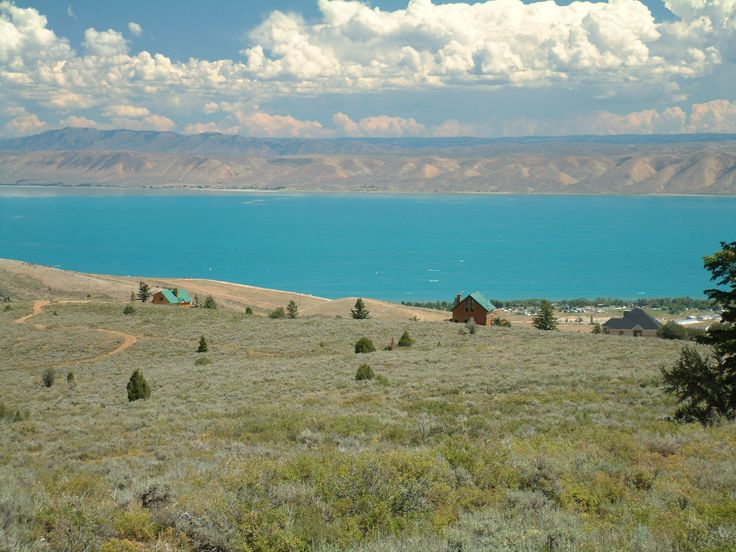 Bear Lake in Idaho... the blue-ist water I've ever seen in person.  obsessed!