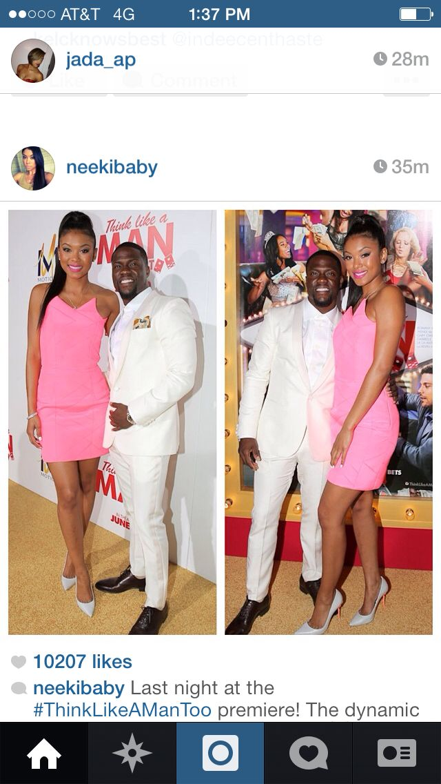 Kevin hart girlfriend