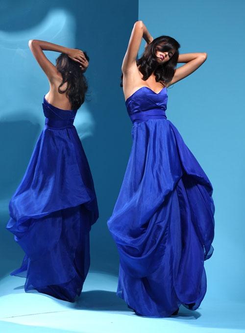 Leanne Marshall for Bluefly -  lush!