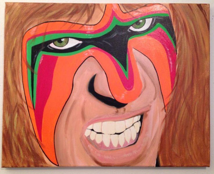 Ultimate Warrior by Tony Menchaca