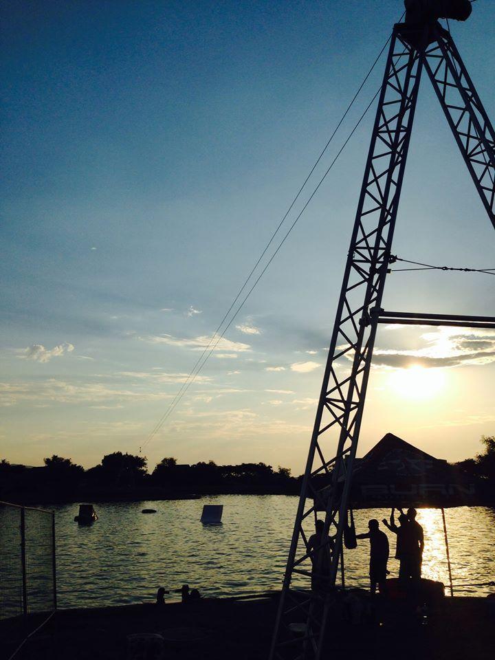 Cableway Systems Demo @ Hartebeespoort Dam #Cablewaysystems #Wakeboarding #Cablewakeboarding