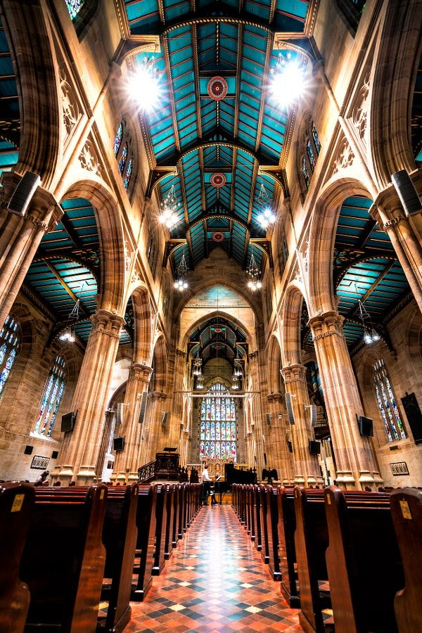St Andrew's Cathedral, Sydney by Ian Liu