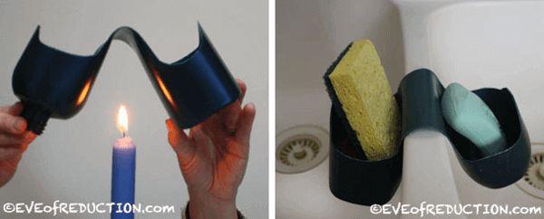 Idee per le bottiglie di riciclaggio di shampoo 11