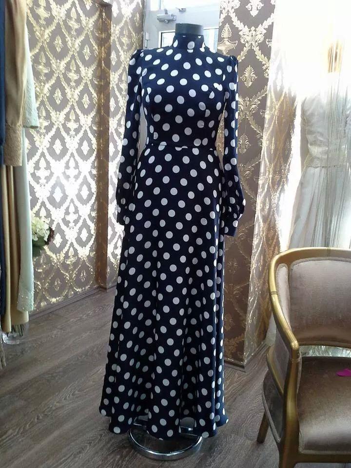 Puantiye elbise