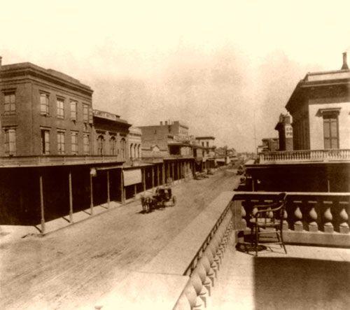 old Sacramento, California, 1866