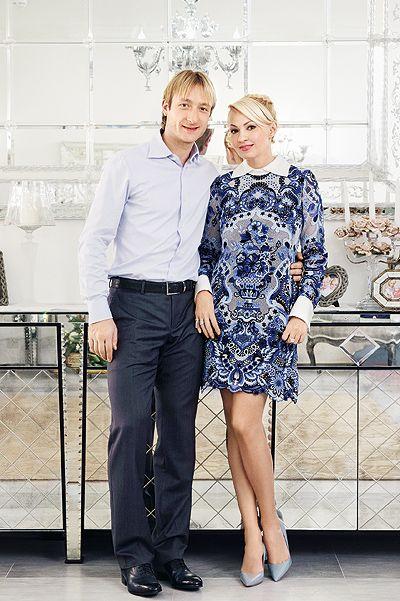 Evgeny Plushenko Wife | Yana Rudkovskaya and Evgeny Plushenko told HELLO! about his family ...