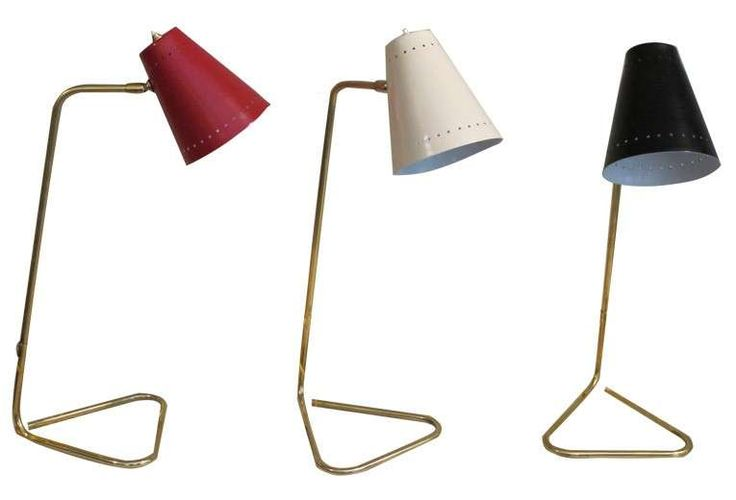 Lampade in stile anni 50 - Lampade colorate come arredamento anni 50 per illuminare la casa.