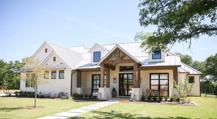 90 incredible modern farmhouse exterior design ideas (61)