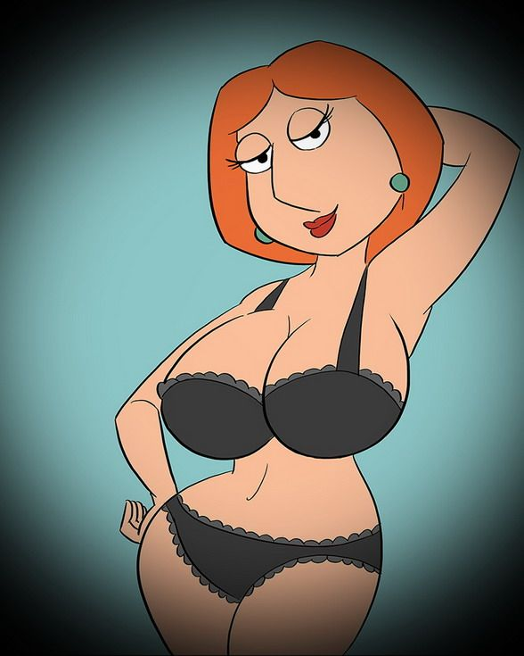 Cartoon bikini meg griffen