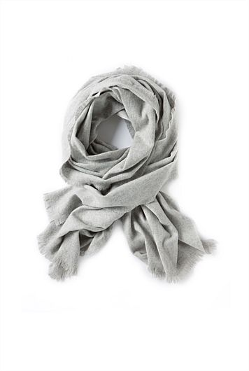 Country Road Grey Scarf