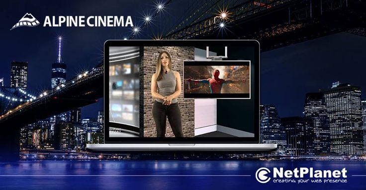 Η #NetPlanet ανέλαβε την παραγωγή του Web TV Show ''Movieland Report'', το οποίο παράγουμε στα Studios μας στην Αθήνα. Το Web TV Show προβάλλεται στη Νέα Υόρκη για τις ανάγκες τών Alpine Cinemas και 2 ακόμα κινηματογράφων σε Manhattan και Brooklyn.